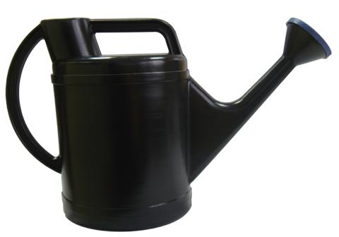 Лейка садовая 10л Классик черная